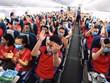 COVID-19: 350 студентов и преподавателей Ханойского медицинского университета уехали добровольцами в провинцию Биньзыонг для