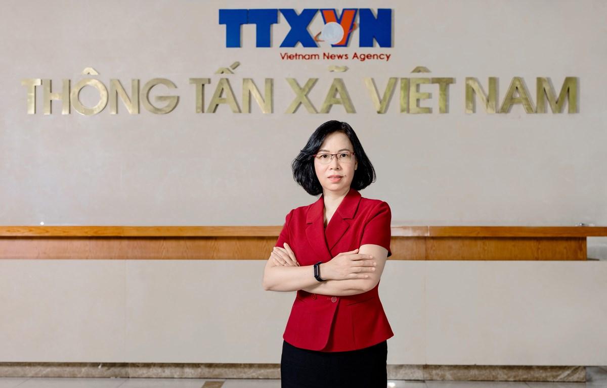 Генеральный директор Вьетнамского информационного агентства Ву Вьет Чанг. (Фото: ВИА)
