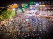 Пешеходная улица в Ханое: идеальное место для побега от городской суеты
