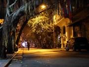 Улицы Ханоя затихают во время социального дистанцирования