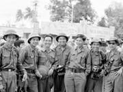 Корреспонденты Вьетнамского информационного агентства (ВИА) в хошиминской военной кампании за освобождение Юга Вьетнама