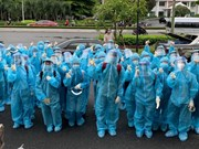 Студенты-медики в борьбе с эпидемией в Хошимине