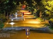 Тихий ночной Ханой в дни дистанцирования