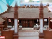 Самые маленькие деревенскиео общинные дома из красного дерева во Вьетнаме