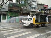 После обнаружения больного с COVID-19 улица Чукбач была продезинфицирована