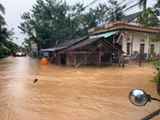 """Ураган """"Молаве"""" достиг центральные прибрежные провинции"""