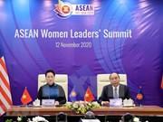 Саммит женщин-лидеров АСЕАН прошел в Ханое онлайн