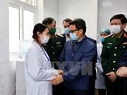 Вице-премьер посетил первых добровольцев клинических испытаний вакцины Nano Covax от COVID-19