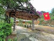 Уникальные ворота в Шин Шуой Хо - деревне народности монг