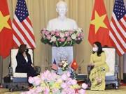 Вице-президент Во Тхи Ань Суан приняла вице-президента США Камалу Харриса