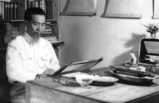 Нгуен Фан Тьань - человек, положивший начало вьетнамской шелковой росписи