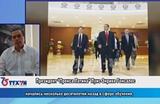 Поздравление от кубинского Пренса Латина (Prensa Latina)
