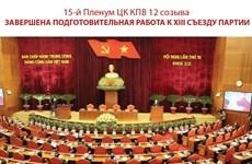 15-й Пленум ЦК КПВ 12 созыва: Завершена подготовительная работа к XIII съезду Партии