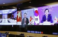 Председатель НC провел онлайн-переговоры с председателем Национального собрания Кореи