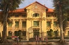 Cолнечный  Ханой в картинах любящего столицу человека