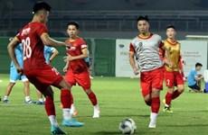 Сборная Вьетнама тренируется в ОАЭ, готовясь к матчу против Китая