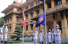 В Ханое прошла торжественная церемония поднятия флага АСЕАН