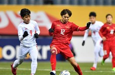 Обыграв Мьянму со счетом 1:0, женская команда Вьетнама по футболу завоевала билет на Олимпийские игры в Токио 2020