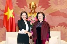 Председатель НС Нгуен Тхи Ким Нган приняла посла Австралии