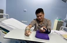 Успешно прошла первая в мире операция трансплантации конечности от живого донора