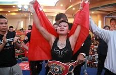 Вьетнамская боксерка впервые выиграла на WBO Asia Pacific