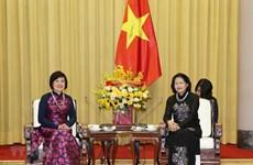 Вице-президент Вьетнама высоко оценивает деятельность женской группы сообщества АСЕАН