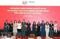 Вьетнам предложил 13 приоритетов на совещании с узким кругом министров экономики стран АСЕАН