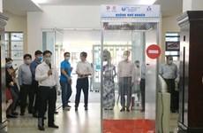 Эпидемия COVID-19: Представлены дезинфекционные камеры вьетнамского производства