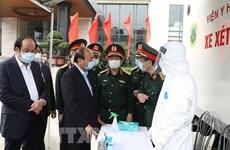 Премьер-министр приветствует усилия армии по борьбе с эпидемией COVID-19