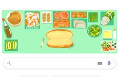 Google Doodle отдает дань уважения вьетнамскому сэндвичу с начинкой