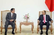 Премьер-министр Нгуен Суан Фук принял бывшего посла Японии во Вьетнаме