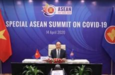 Премьер-министр Вьетнам выступил со вступительной речью на Специальном саммите АСЕАН по борьбе с COVID-19
