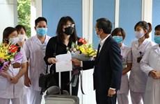 Выписаны 3 пациента с COVID-19 в провинциях Ниньбинь, Куангнинь