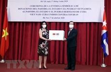 Вьетнам и Куба тесно сотрудничают в борьбе против COVID-19