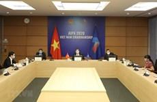 Вьетнам принял участие в телеконференции о роли парламента в борьбе с COVID-19
