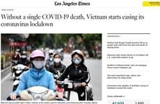 Иностранные СМИ высоко оценивают достижения Вьетнама в борьбе с COVID-19