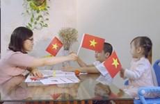 45-летие освобождения Юга и воссоединения страны: Вьетнамский флаг своими руками