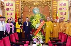 Власти Ханоя поздравили буддистов с днем рождения Будды