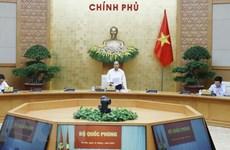 Премьер-министр Вьетнама председательствовал на очередном заседании правительства в апреле