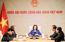 Лидеры Национального собрания Вьетнама и Лаоса провели телефонные переговоры