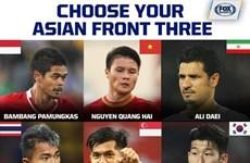 Fox Sports Asia назвал вьетнамского игрока одним из претендентов на звание одного из трех лучших нападающих Азии