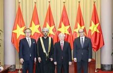 Генеральный секретарь КПВ и президент Вьетнама Нгуен Фу Чонг принял верительные грамоты послов ряда иностранных государств