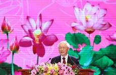 Национальная церемония в честь 130-летия президента Хо Ши Мина