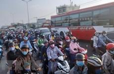 Хошимин: пилотная программа по контролю вредных выбросов мотоциклов