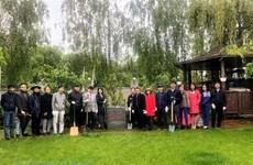 Празднование дня рождения президента Хо Ши Мина на Украине и в Германии