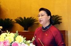 Председатель НС Нгуен Тхи Ким Нган выступила 9-й сессии Национального собрания Вьетнама XIV-го созыва