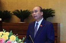 Премьер-министр доложил НС о работе по профилактике и борьбе с COVID-19 и решениях по социально-экономическому восстановлению страны