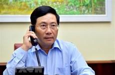 Министры иностранных дел Вьетнама и Италии провели телефонные переговоры