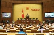 НС обсуждает проекты законов о пограничниках и вьетнамцах, работающих за границей