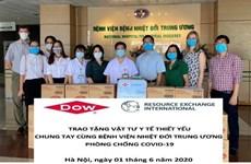 Американская компания поддерживает борьбу Вьетнама с COVID-19